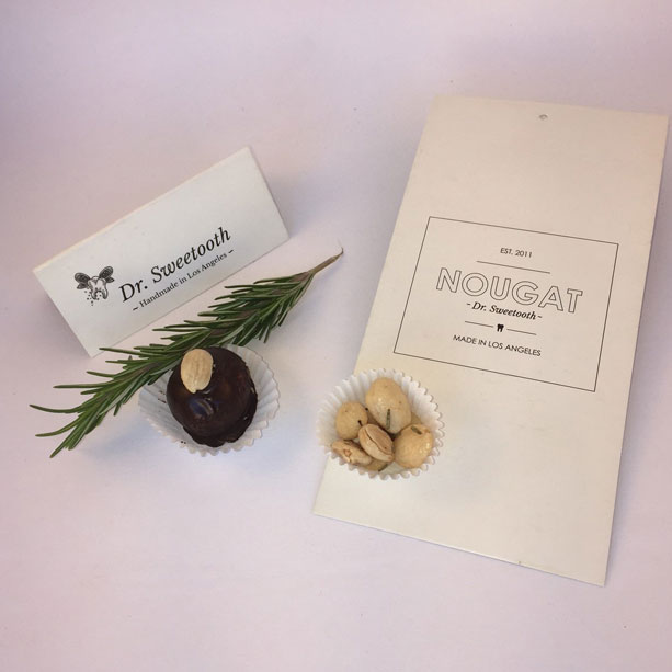 Marcona Almond with salted Rosemary Noutruffle